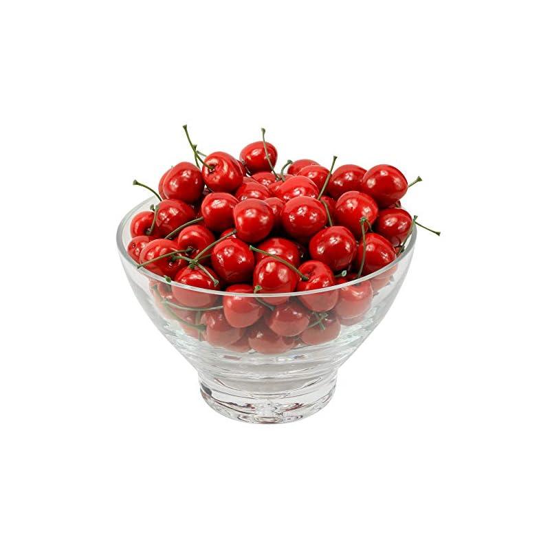 silk flower arrangements mylifeunit artificial cherry fruit, artificial fruit for decoration, 100 pcs
