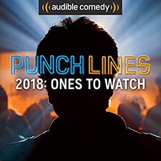 Punchlines 2018 Comics to Watch audiobook cover art