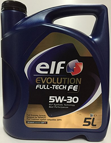 Elf Motorenöl Evolution Full-Tech FE 5W-30 5 Liter 5 Ltrs = 1 x 5 L