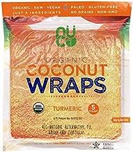 NUCO Organic Coconut Turmeric Wraps, 2.47 OZ
