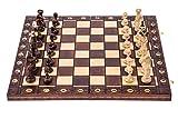 Square - Ajedrez de Madera - SENADOR Lux - 41 x 41 cm - Piezas de ajedrez & Tablero de ajedrez