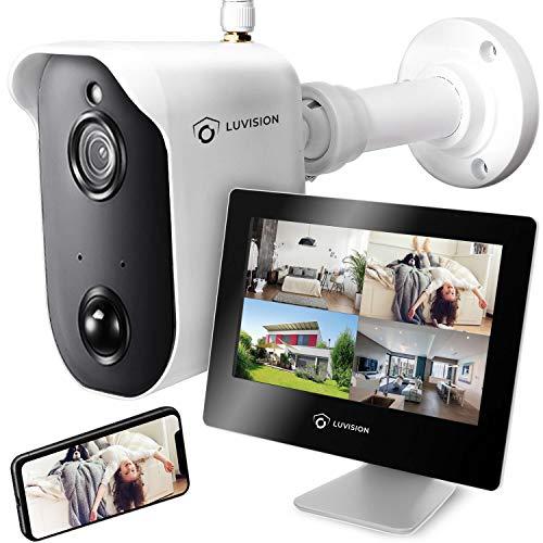 LUVISION Akku-Überwachungskamera mit 9