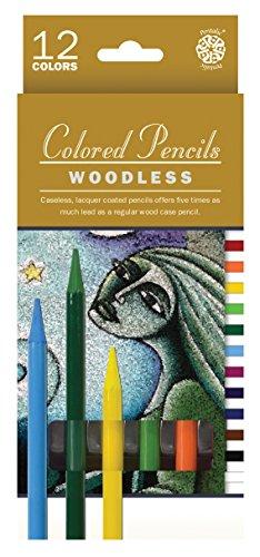 Pentalic Art PTL-8913-12 Woodless Colored Pencil Set