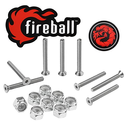 FIREBALL Dragon Skateboard-Hardware-Set, Edelstahl, 1.5
