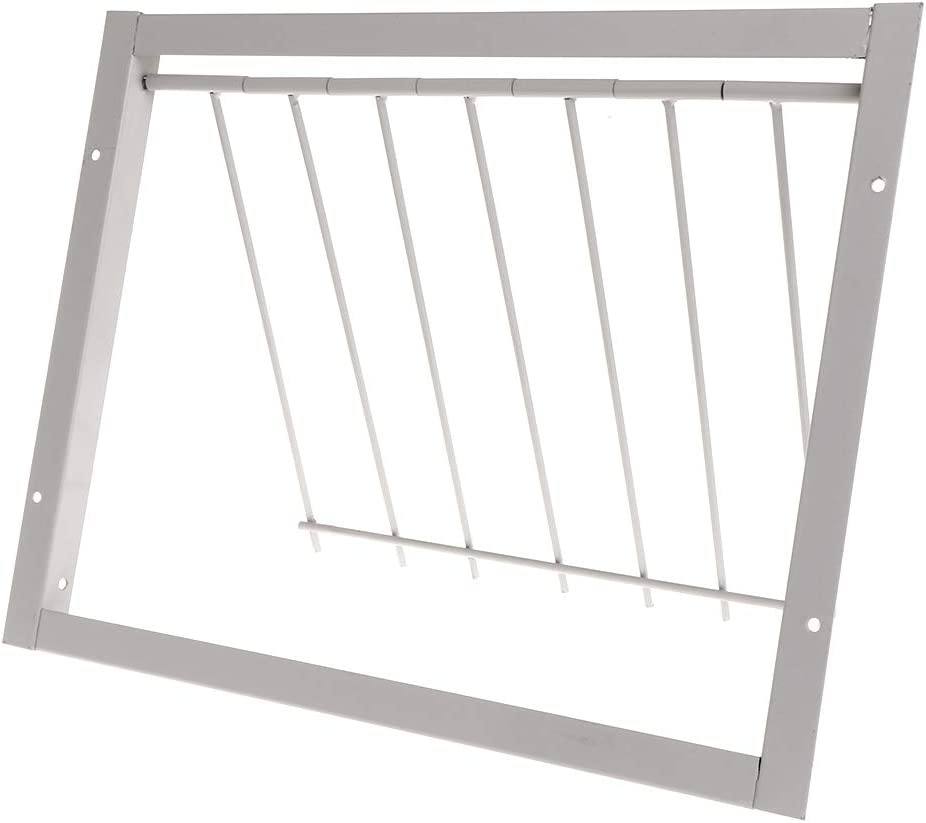 Yushu - Puerta de paloma - Barras de alambre Entrada de marco - Puertas de atrapar Suministros de loft - Racing Birds Catch Bar Juguetes de loro - Suministros para mascotas para mascotas