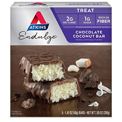 Atkins Endulge Bar Chocolate Coconut, Chocolate Coconut 5 Pkts 7 Oz