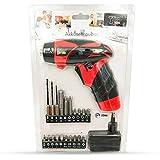yaohuishanghang Home Tool Kit Batería Seca Destornillador eléctrico, Herramientas de Hardware de Mini Taladro eléctrico Small Parts (Size : Charging Style B)