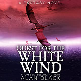Quest for the White Wind, Volume 1 audiobook cover art