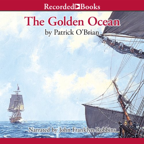 The Golden Ocean audiobook cover art