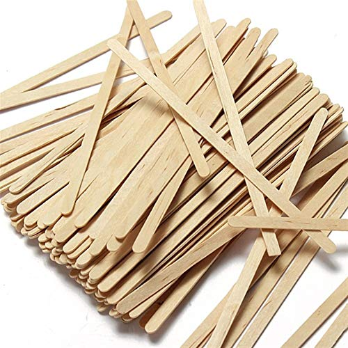 100pcs/Pack Wood Tea Pot Disposable Coffee Wooden Stir Stick