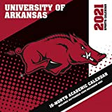 Arkansas Razorbacks 2021 12x12 Team Wall Calendar