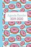 Agenda Escolar 2019-2020: Donas. Para Estudiantes y Maestros. 15x22 cm, con 135 páginas en blanco y negro