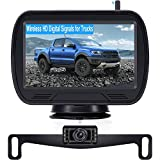 Wireless Backup Camera for Car, Rohent R11 HD Bluetooth Backup Camera Stable Digital Signal Hitch Rear View Camera System Easy Installation for Truck Campers Van SUV IP69K Waterproof