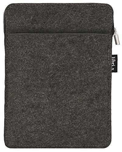 moses. libri_x E-Reader-Hülle | Schutztasche aus Filz | für E-Reader, Mini Tablets...