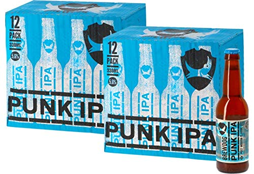Big Pack Cervezas - 24 cervezas - Cervezas Artesanas - Degustacion (Big Pack Brewdog Punk IPA - 24 Cervezas)