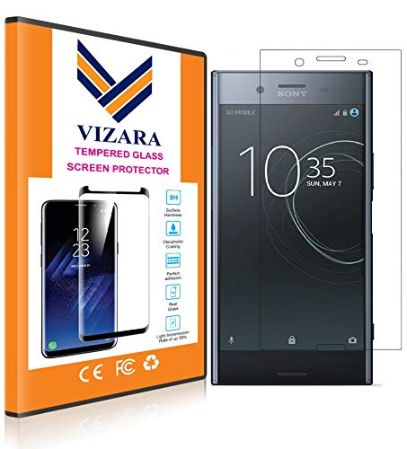 VIZARA™ 0.3 mm 9H Flexible Gorilla Guard Tempered Glass Screen Protector Shield for Sony Xperia XZ Premium (Pack of 1)