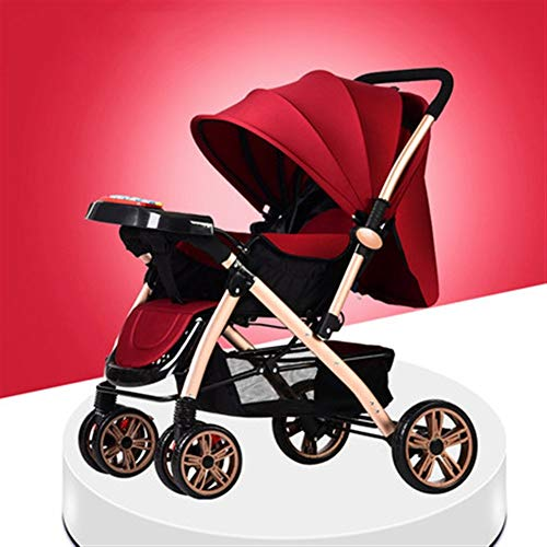 Review Of Goquik Baby Stroller Can Sit Reclining Light Folding Newborn Baby Child Simple Portable Ch...