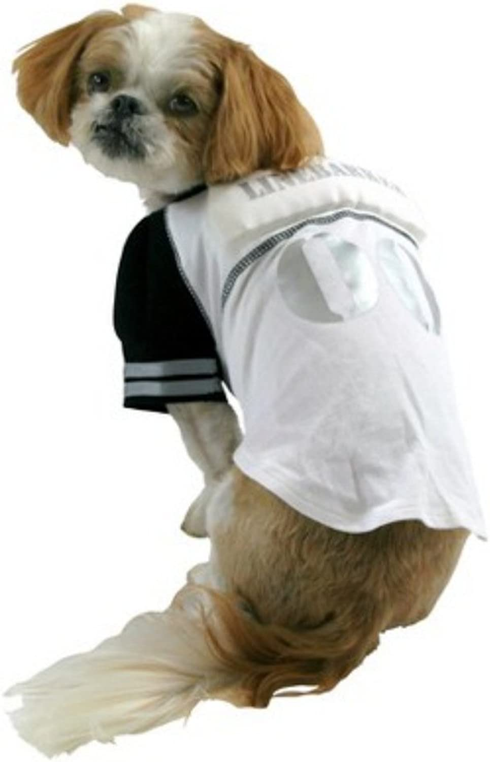 Linebarker Dog Costume Padded Line Backer Pet Tee Halloween Football TShirt by Target