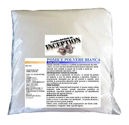 Inception Pro Infinite - Natürliches Bimssteinpulver - 6/0 sio2 - Möbelrestaurierung und - Harzfüller - 1kg - veredelung