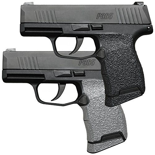 Galloway Precision TractionGrips Grip Overlay in Black for Sig Sauer P365 Pistols