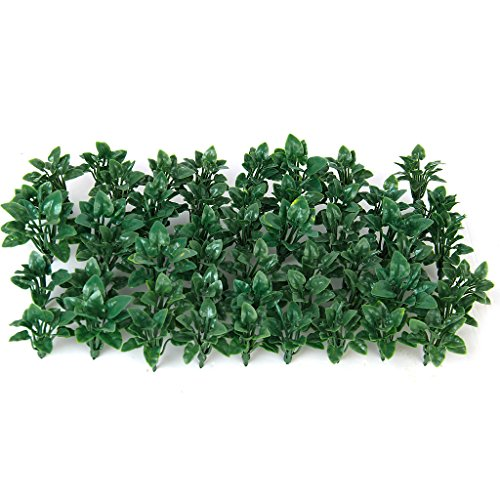 50pcs Grüne Landschaft Landschaftsmodell Bodendecker Gras Mit Herzförmigen Blättern