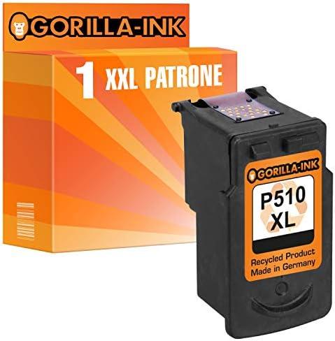 Gorilla Ink 1 Druckerpatrone Für Canon Pg 510 Xl 1x Black Je Patrone 15ml Xxl Inhalt Bürobedarf Schreibwaren