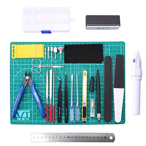 Gundam Modeler Basic Tools Werkzeuge Kraft HandwerkSet F/ür Auto Modell Bausatz DIY Reparatur Fix Kit