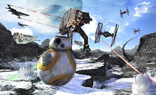 Kurt Miller/Stocktrek Images – Star Wars BB-8 Escaping The Empire rath Poster Drucken (91,44 x 55,88 cm)