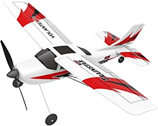 Really Go-us Direct Volantex 761-1 2.4GHz 3ch Mini Trainstar 6-Axis Remote Control RC Airplane Fixed Wing Drone Plane RTF for Beginners and Kids Gift 15.7x12.2x3.9 Inch