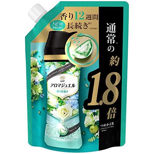 レノア ハピネス アロマジュエル 香りづけ専用ビーズ ヘビロテ服も新鮮な香り長続き パステルフローラル&ブロッサム 詰め替え 約1.8倍(730mL)