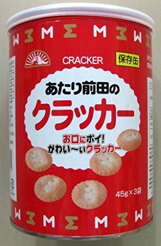前田製菓 保存缶 あたり前田のクラッカー