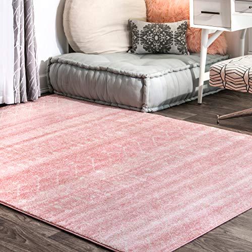 alfombra rosa fabricante nuLOOM