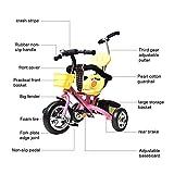 Bicicleta para niños pequeños, triciclo infantil Triciclo para bebés Rueda...