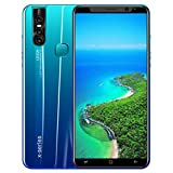 2019 New -Unlocked Cell Phone, 5.0 ''Ultrathin Android 6.0 1G+4G GPS 3G Dual SIM Touch Screen Smartphone Mobile Phone (Green)