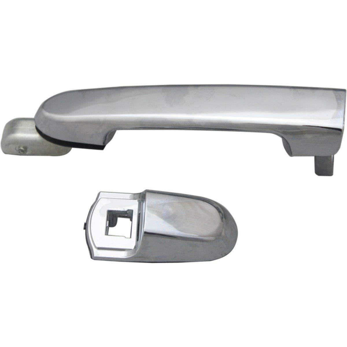 2Pcs Rear Pair Exterior Door Handle Left Right For Hyundai Accent 2006 2010