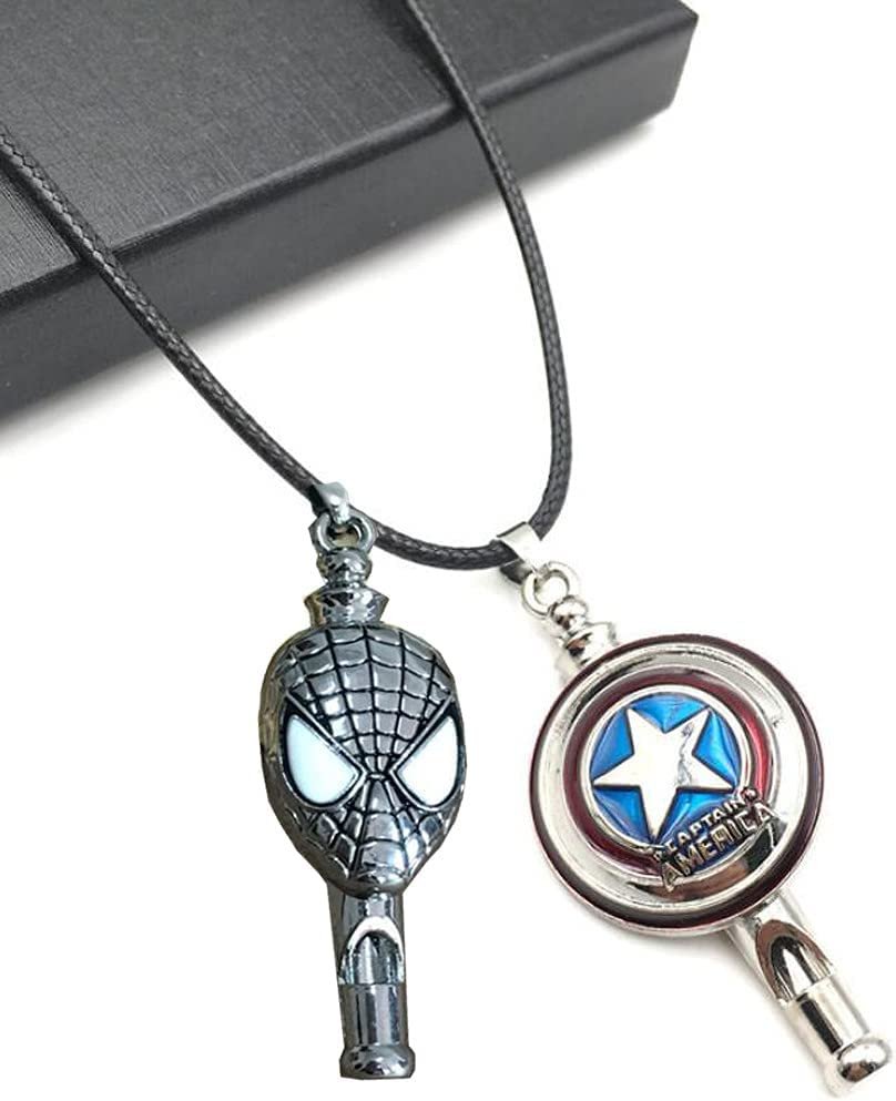 Sxe Spider-Man Captain America Whistles Lanyard Kids S Large Direct sale of manufacturer special price for with