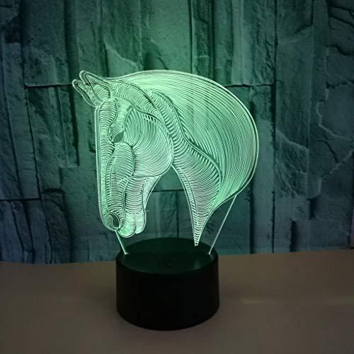 Nur 1 Stück 3d Nachttischlampen USB-betriebene LED-Schreibtischlampe Geschenkatmosphäre 3d kleine...