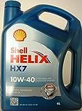 Shell Helix HX710W-40- Lubrificante semisintetico, per motori benzina 4,tanica da 4litri