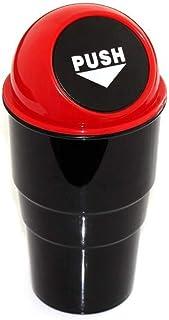Dewberries® Mini Car Trash Bin Can Holder Dustbin (Multi Color)