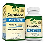 Terry Naturally CuraMed Prostate - BCM-95 Curcumin Complex, 60 Softgels - Healthy Prostate Support Supplement, Supports Healthy PSA Levels & Male Hormone Balance - Non-GMO, Gluten-Free - 30 Servings