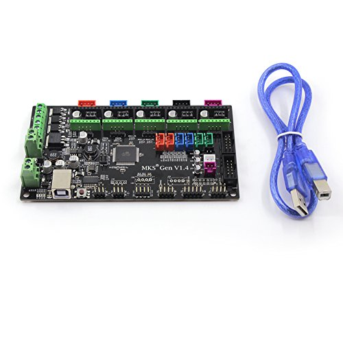 Placa de control para impresora 3D Gen V1.4RepRap Ramps 1.4MKS, de la marca BIQU