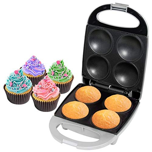 New Amazing Heat & Eat Cupcake Maker with Non Stick Plates, Enjoy Baking