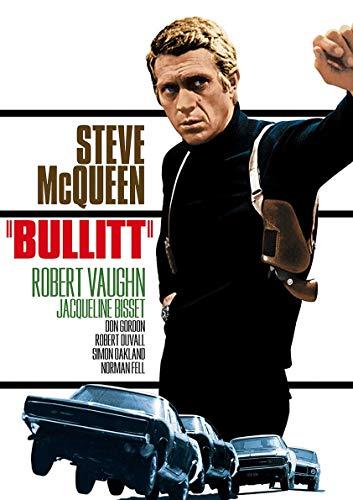 Poster Steve Mcqueen Bullit Affiche cinéma Wall Art