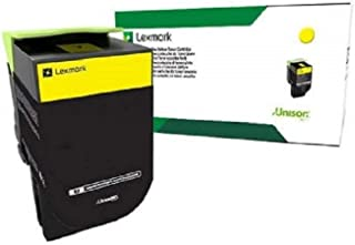 Lexmark 80C1SC0 Cyan Standard Yield Return Program Toner