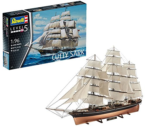 Revell Maqueta Cutty Sark, Kit Modello, Escala 1:96 (5422) (