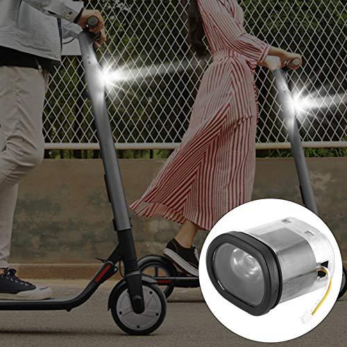 DAUERHAFT Faro de Scooter Duradero USB súper Brillante Resistente al Desgaste, para la Serie Ninebot Es1 Es2 Es3 Es4 de Scooter eléctrico Inteligente.