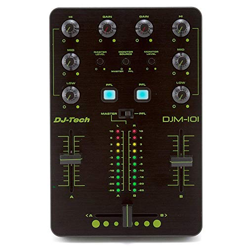 DJ-Tech DJM-101  Battle Design 2-Kanal-Mixer inkl. Software