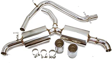 Rev9(CB-012) Stainless Cat-Back Exhaust Sports Muffler Design compatible with Volkswagen GTI MK6 09-14 2.0T TFSI Turbo