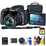 Canon PowerShot SX70 HS Digital Camera (3071C001) - with 32GB Memory Card, Bag, Cleaning Kit, and More