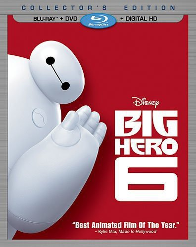 Big Hero 6 (Blu-ray + DVD + Digital HD) [Importado]